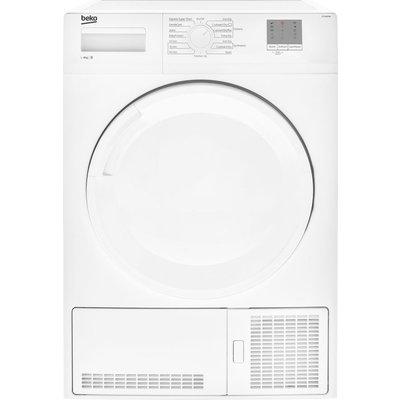 Beko Tumble Dryer DTGC8000W 8 kg Condenser  - White, White