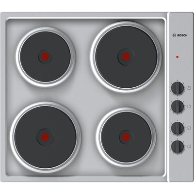 BOSCH Serie 2 PEE689CA1 Electric Solid Plate Hob   Steel - 4242002938189