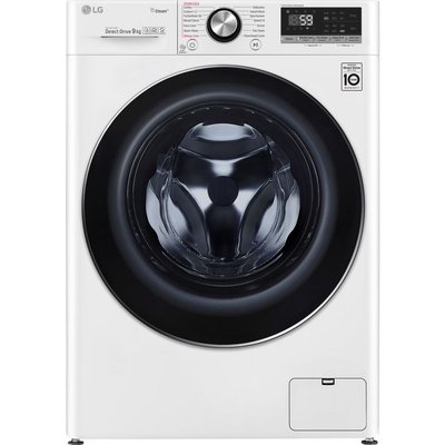 LG Vivace F4V709WTS WiFi-enabled 9 kg 1400 Spin Washing Machine - White, White
