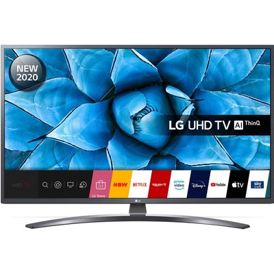 "65"" LG 65UN74006LB  Smart 4K Ultra HD HDR LED TV with Google Assistant & Amazon Alexa"