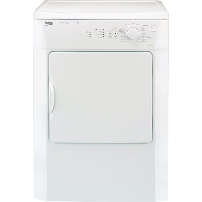 Beko Tumble Dryer DRVS73W Vented  - White, White