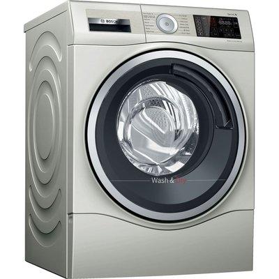 BOSCH Serie 6 WDU28569GB 10 kg Washer Dryer - Silver, Silver