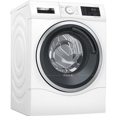 BOSCH Serie 6 WDU28560GB 10 kg Washer Dryer - White, White