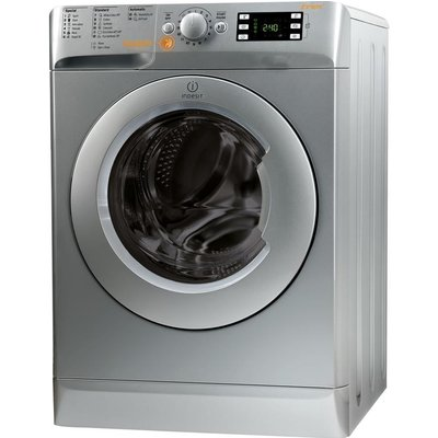Indesit Washer Dryer Innex XWDE861480XS  - Silver, Silver