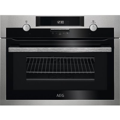 AEG KME561000M Electric Oven with Microwave  Stainless Steel  Stainless Steel - 7332543524129