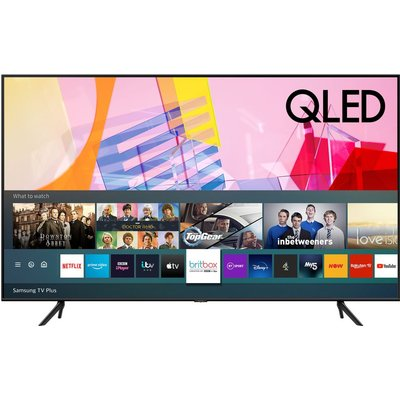 "85"" SAMSUNG QE85Q60TAUXX  Smart 4K Ultra HD HDR QLED TV with Bixby, Alexa & Google Assistant"