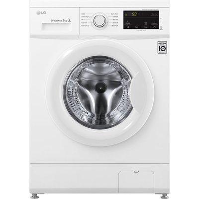 LG F4MT08W 8 kg 1400 Spin Washing Machine - White, White