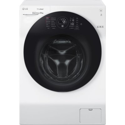 LG FH4G1BCS2 WiFi-enabled 12 kg 1400 Spin Washing Machine - White, White