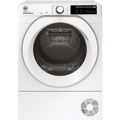 HOOVER H-Dry 500 ND H10A2TCE WiFi-enabled 10 kg Heat Pump Tumble Dryer – White, White