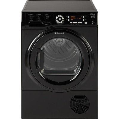 HOTPOINT Ultima S-Line SUTCD97B6KM Condenser Tumble Dryer - Black, Black