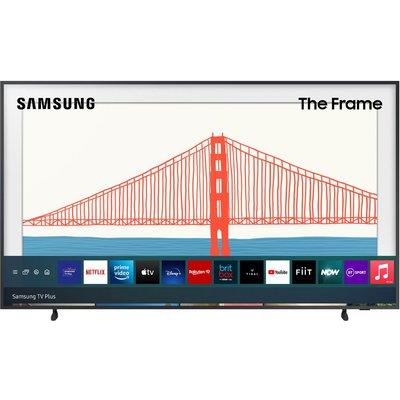 "32"" SAMSUNG The Frame QE32LS03TCUXXU  Smart Full HD HDR QLED TV with Bixby, Alexa & Google Assistant - Black, Black"