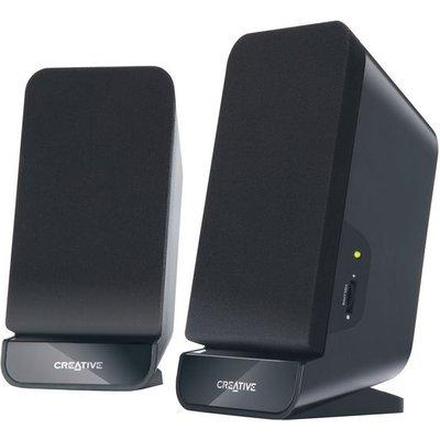 2 0 PC speaker Corded Creative Labs Inspire A60 Black - 5390660168741