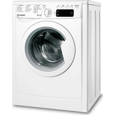 INDESIT EcoTime IWDD 75125 UK N 7 kg Washer Dryer - White, White