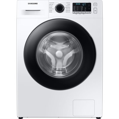 SAMSUNG ecobubble WW90TA046AE/EU 9 kg 1400 Spin Washing Machine - White, White