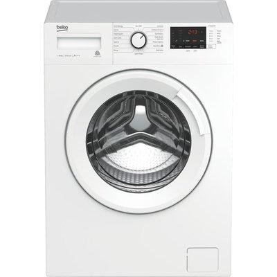 Beko WTB1041R4W 10 kg 1400 Spin Washing Machine - White, White