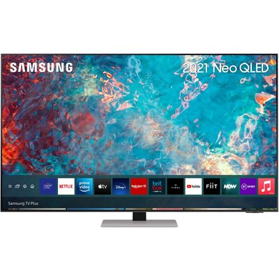 "65"" SAMSUNG QE65QN85AATXXU  Smart 4K Ultra HD HDR Neo QLED TV with Bixby, Alexa & Google Assistant, Black"