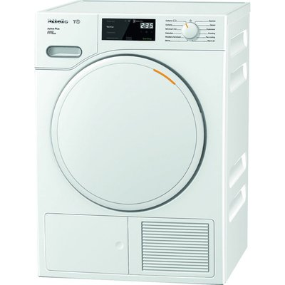 Miele Tumble Dryer Active Plus TWE520WP 8 kg Heat Pump  - White, White