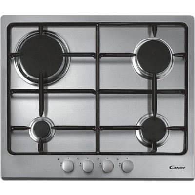 8016361824539 | Candy CPG64SPX 4 Burner Gas Hob   Stainless Steel