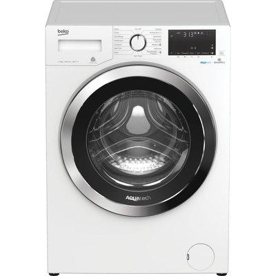 Beko Pro AquaTech WX94044E0W Bluetooth 9 kg 1400 Spin Washing Machine - White, White