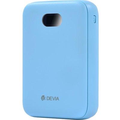 DEVIA DEV-DIGITAL-POW10-BLU Portable Power Bank - Blue, Blue