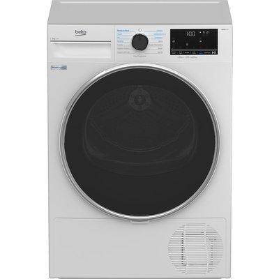 BEKO B5T4823IW 8 kg Heat Pump Tumble Dryer - White, White