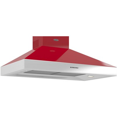 BRITANNIA  Latour TPBTH100GR Chimney Cooker Hood   Gloss Red  Red - 5060245931595