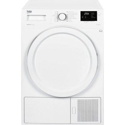 Beko Tumble Dryer DHY7340W Heat Pump  - White, White