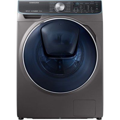 Samsung QuickDrive  AddWash WW10M86DQOO Smart 10 kg 1600 Spin Washing Machine - Graphite, Graphite