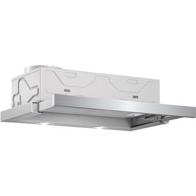 Bosch DFM063W50B Telescopic Extractor Hood   Metallic Silver - 4242002918310