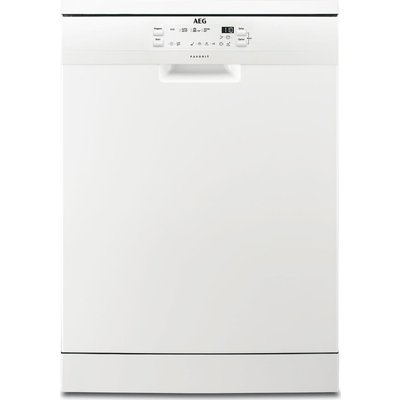 AEG FFB41600ZW 60cm Freestanding 13 Place A  Dishwasher in White - 7332543536894