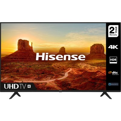 HISENSE 43A7100FTUK  Smart 4K Ultra HD HDR LED TV with Amazon Alexa