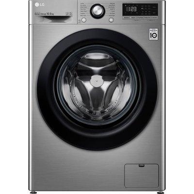 LG AI DD V3 F4V310SNE 10.5 kg 1400 Spin Washing Machine - Graphite, Graphite