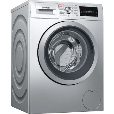 BOSCH Serie 6 WVG3047SGB 7 kg Washer Dryer - Silver, Silver