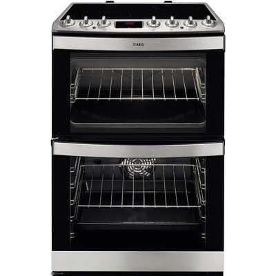 Aeg 43102V MN 60 cm Electric Ceramic Cooker   Stainless Steel  Stainless Steel - 7332543449705