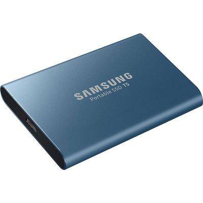 SAMSUNG T5 External SSD - 500 GB, Blue, Blue