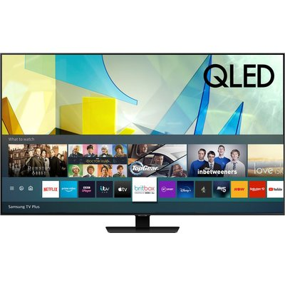 "75"" SAMSUNG QE75Q85TATXXU  Smart 4K Ultra HD HDR QLED TV with Bixby, Alexa & Google Assistant"
