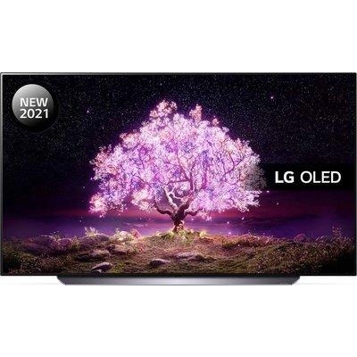 "77"" LG OLED77C14LB  Smart 4K Ultra HD HDR OLED TV with Google Assistant & Amazon Alexa"
