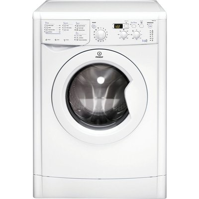 Indesit Washer Dryer IWDD7123  - White, White