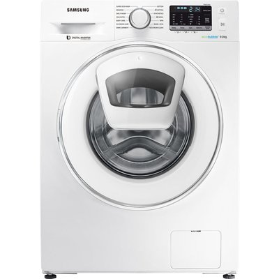 Samsung AddWash WW80K5410WW/EU 8 kg 1400 Spin Washing Machine - White, White