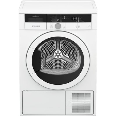 Grundig Tumble Dryer GTN29240GW 9 kg Heat Pump  - White, White