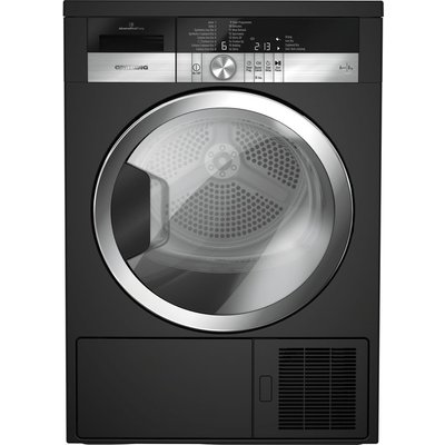 Grundig Tumble Dryer GTN38250MGCB 8 kg Heat Pump  - Black, Black