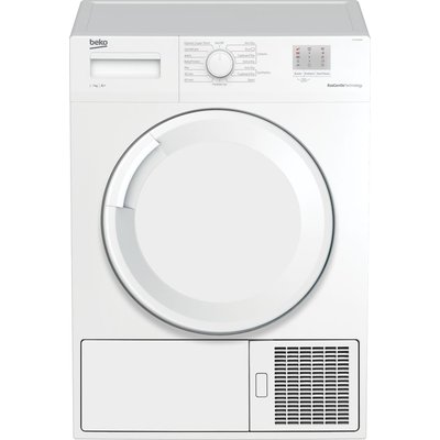 BEKO DTGP7000W 7 kg Heat Pump Tumble Dryer - White, White