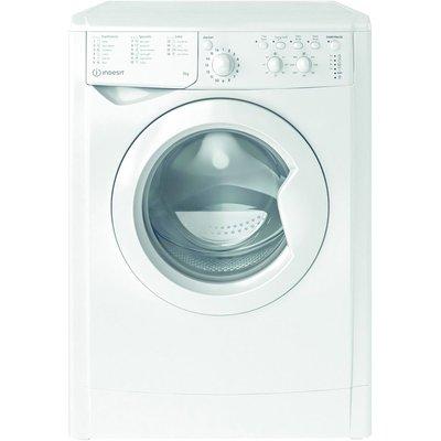 INDESIT MTWC 91484 W 9 kg 1400 Spin Washing Machine - White, White