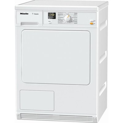 Miele Tumble Dryer TDA140C Condenser  - White, White