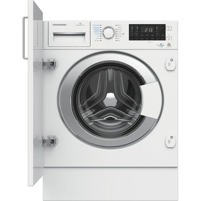 GRUNDIG GWDI854 Integrated 8 kg Washer Dryer