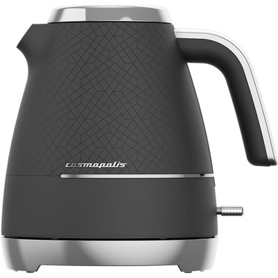 BEKO Cosmopolis WKM8307B Jug Kettle - Black & Chrome, Black