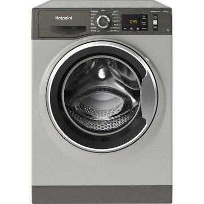 HOTPOINT Activecare NM11 964 GC A UK N 9 kg 1600 Spin Washing Machine - Graphite, Graphite