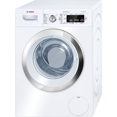 BOSCH Serie 8 ActiveOxygen WAW28750GB Washing Machine - White, White