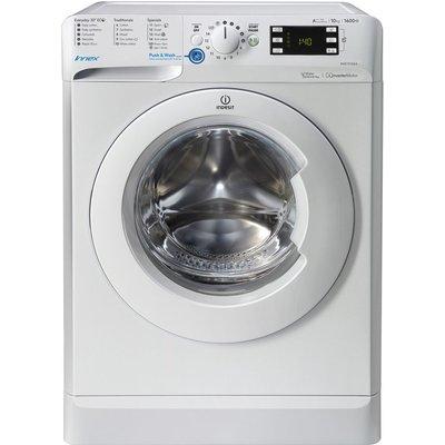 INDESIT Innex BWE 101684X W Washing Machine - White, White