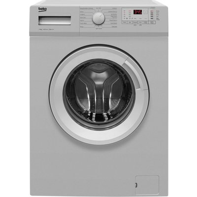 BEKO WTG641M1S 6 kg 1400 Spin Washing Machine - Silver, Silver
